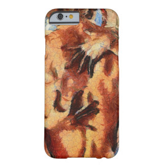 Passionate Lovers Painting Barely There iPhone 6 Case