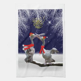 Passionate Pelicans Kitchen Towel