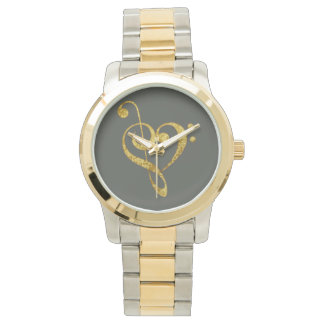 passionately musical - jewellery wristwatch