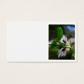 Passionfruit Blossom Business Card