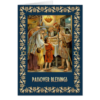 Passover Blessings. Fine Art Customizable Cards