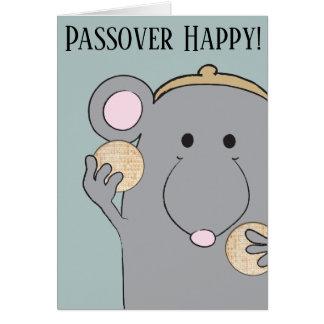 """Passover Greeting Card """"Matzah, Matzah"""""""
