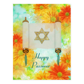 Passover Greetings Postcard