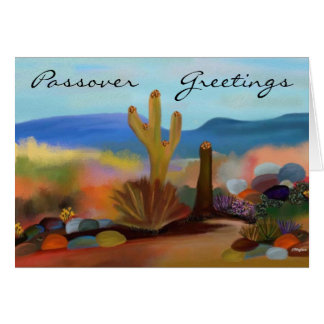 Passover in the Desert Card