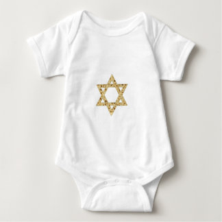 Passover Matzoh Star of David Baby Bodysuit
