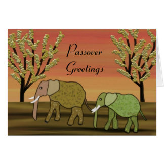 Passover Peace Card