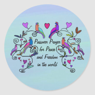 Passover Peace Stickers