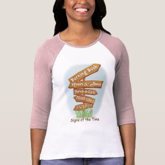 """Passover """"Signs of the Time """" Women's Raglan Shirt"""