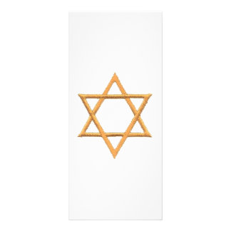 Passover Star of David Customized Rack Card
