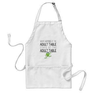"""Passover """"The Adult Table"""" Standard Apron"""