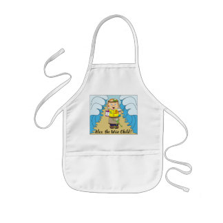 "Passover ""The Wise Child"" Kid's Apron"