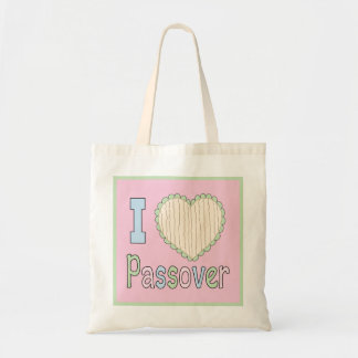 "Passover Tote Bag ""I Love Passover"""