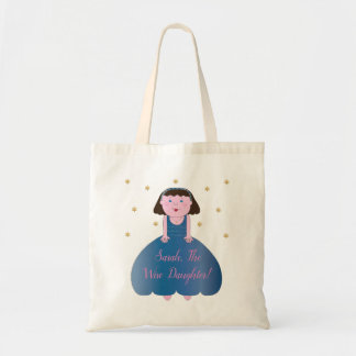 "Passover Tote Bag ""The Wise Daughter"""