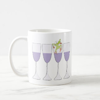 "Passover ""Wine and Frog"" 11 oz Coffee Mug"