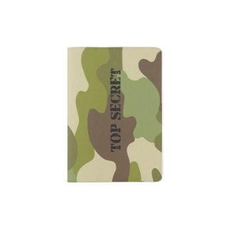 passport holder camouflage top secret