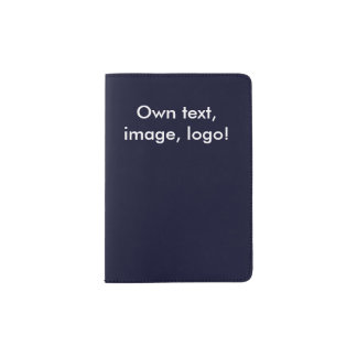 Passport Holder uni Dark Blue