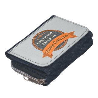 Passport Stamp Collector Wallet