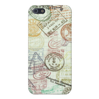 Passport Stamps iPhone 5/5S Cases