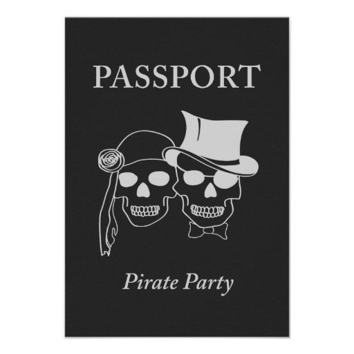 passport to a pirate party announcements