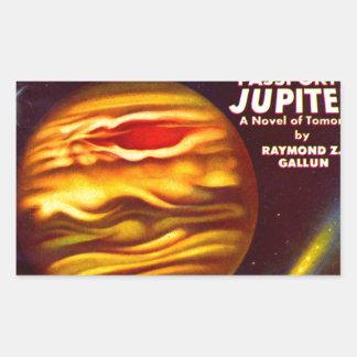 Passport to Jupiter Rectangular Sticker
