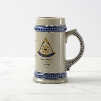 Past Master Commerative Stein