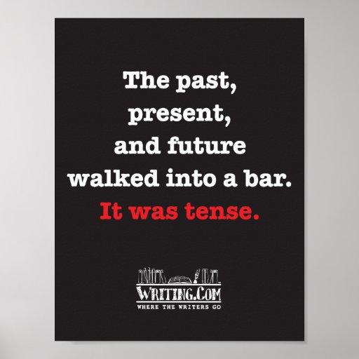 Past, Present, and Future Print