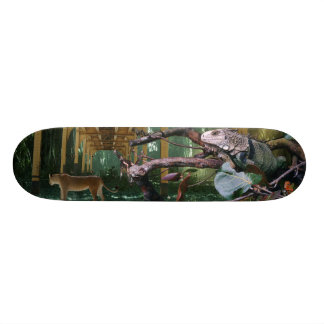 Past time, Elapsed time Skate Board Deck