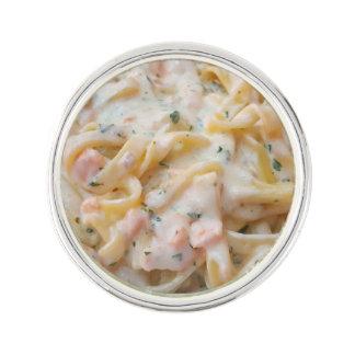 Pasta Custom Food Photo Lapel Pin