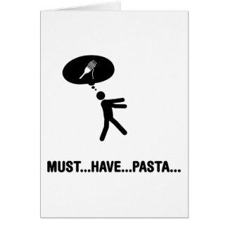 Pasta Lover Card