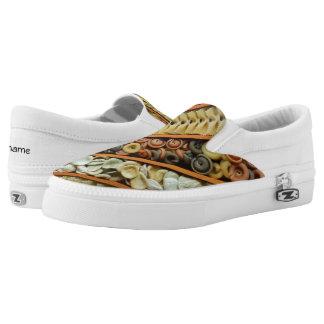 pasta noodles photograph slip on shoes
