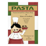 Pasta Party Personalized Invites