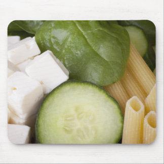 Pasta Salad Ingredients Mousepad