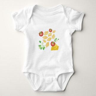 Pasta Shells Baby Bodysuit