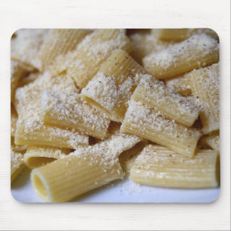 Pasta with Parmesan Cheese Mouse Pad