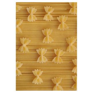 pasta wood poster