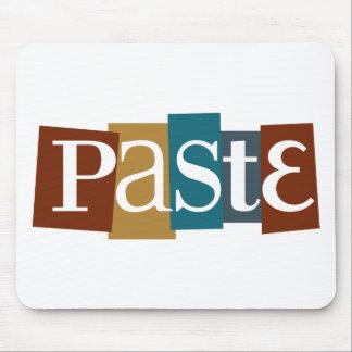 Paste Block Logo Color Mouse Pad