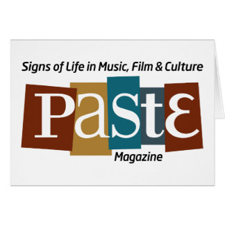 Paste Block Logo Mag and Tag Color Greeting Card