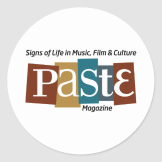 Paste Block Logo Mag and Tag Color Round Sticker