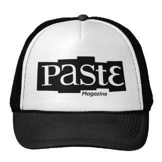 Paste Block Logo Magazine Black Cap