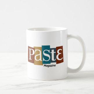 Paste Block Logo Magazine Color Basic White Mug