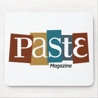 Paste Block Logo Magazine Color Mouse Pad