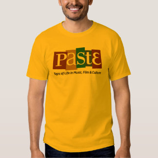 Paste Block Logo Tag on Bottom Color T Shirts
