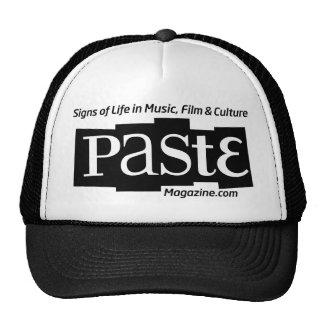 Paste Block Logo Url and Tag Black Cap