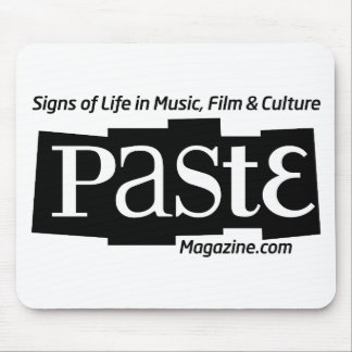 Paste Block Logo Url and Tag Black Mouse Pad