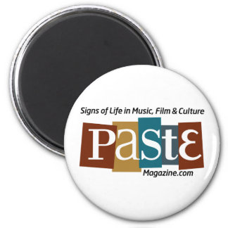 Paste Block Logo Url and Tag Color 6 Cm Round Magnet