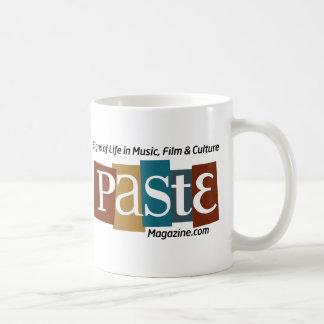 Paste Block Logo Url and Tag Color Basic White Mug