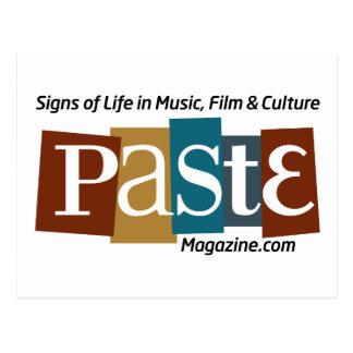 Paste Block Logo Url and Tag Colour Postcard