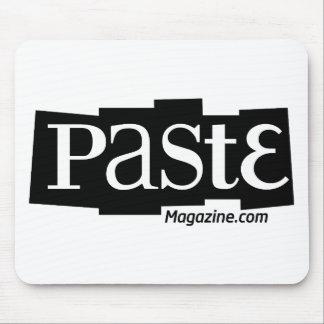 Paste Block Logo URL Black Mouse Pads