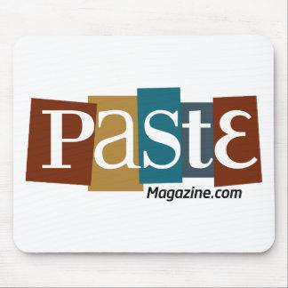 Paste Block Logo URL Color Mouse Pad