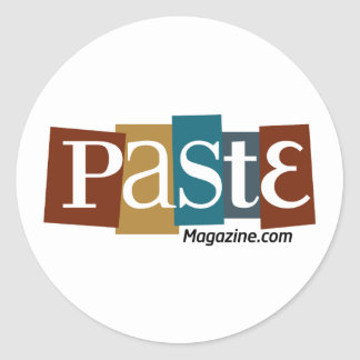 Paste Block Logo URL Color Round Sticker